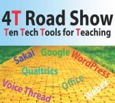 4T Roadshow poster