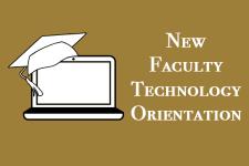 logo for new faculty tech orientation
