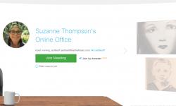 Screenshot of a WebEx Personal Room Lobby