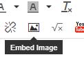 Rich text editor button