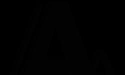 decorative image of icon double A symbol