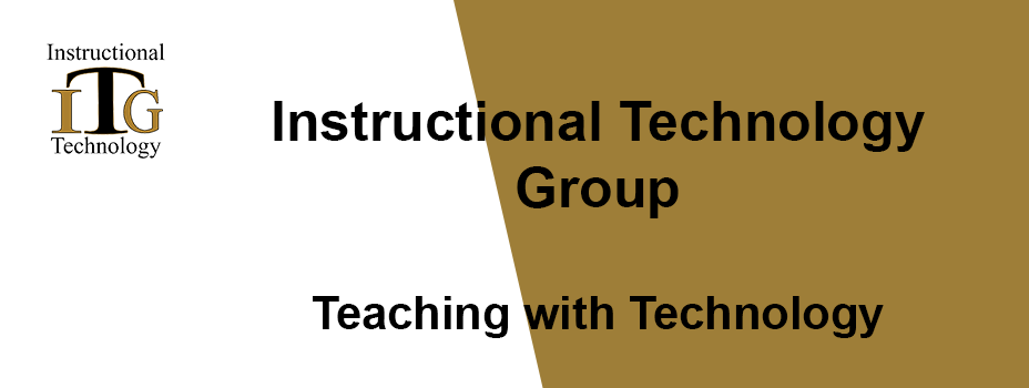 ITG Teaching With Technology image